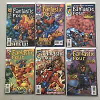 Lot of 12 Fantastic Four (1998 3rd Series) #1-24 VF-NM Near Mint