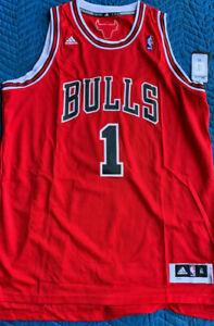 "Chicago Bulls - *-* Derrick Rose Authentic Adidas ""Swingman"" Jersey **_** NEW!!!"