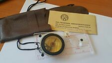 VINTAGE COMPASS VEB FREIBERGER DDR GDR GERMANY ORIGINAL SPORT 4 RUSSIAN LANGUAGE