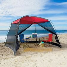 Screen House Outdoor Canopy Shade Beach Gazebo Instant Pop Up Camping Tent 10 Ft