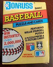 1991 Donruss Series 1 Baseball Card Packs