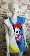 NWT Iceberg Womens Minnie Mouse Blue Jumper Dress Size 10 - 12 UK