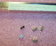QTY (57) TSM-103-01-S-SV-P SAMTEC 3 POSITION SMD HEADER VERTICAL 2.54mm
