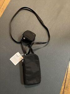 Lululemon Modular Phone Crossbody bag black Nwt