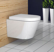 Treviso Luxus Wand-Hänge WC/Toilette mit SoftClose Sitz