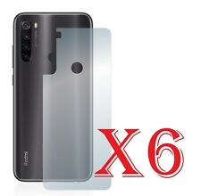 6 PZ PELLICOLA PROTEZIONE PARTE POSTERIORE Xiaomi Redmi Note 8T Retro PROTEGGI