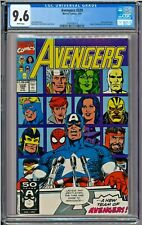Avengers #329 CGC 9.6 White Pages New Team Rage Sandman ONLY 1 ON EBAY