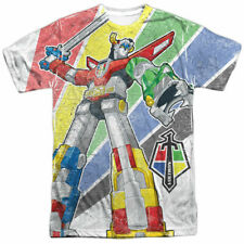 Authentic Voltron Mighty Robot Legendary Defender Tv All Front Print T-shirt Xl
