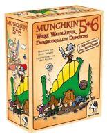 Pegasus Munchkin 5+6+6.5 Erweiterung Kartenspiel Waldläufer Dungeons Grüfte NEU