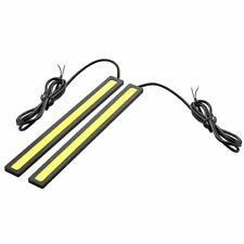 1 Par de 6W 6000K Impermeable Xenon Blanco Delgado Cob DRL LED Luz Lampara S8G9