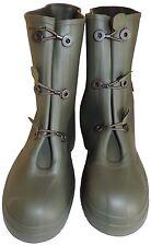 Sur-bottes caoutchouc isolantes kaki multi-usage NEUVES - Pointure 41/42