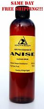 ANISE ESSENTIAL OIL AROMATHERAPY NATURAL 100% PURE 4 OZ