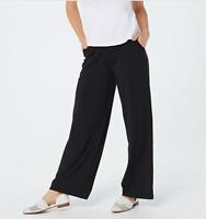 Mod French Cut Nylon//Lycra Fancy Pants Tennis Panties 1 Pocket Black ONLY!