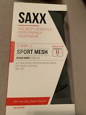 Saxx Men's Underwear Sport Mesh Boxer Briefs with Built-in Ballpark Pouch Suppor