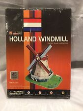 "CubicFun 3D Puzzle C-Series ""Holland Windmill"" Worlds Great Architecture"