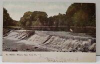 York Pennsylvania Wiest's Dam to Biglerville Pa Postcard E5