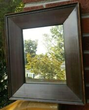 Antique Federal SULLY Dark MAHOGANY or Rosewood Panel Mirror FRAME c1850s