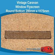 Caravan Window Fly screen ROUND Bottom Vintage ( 280mm x 1175mm )  010239
