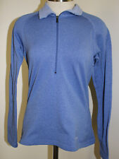 Patagonia Regulator 1/2 Zip Polartec Fleece Pullover Powder Blue Women's S