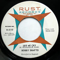 BOBBY SHAFTO 45 See Me Cry / A Little Like You MOD BEAT Popcorn 2 SIDER e5250