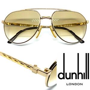 DUNHILL 6183  [40 62-16 140]  Gold Eyeglasses Sunglasses Vintage Rare!! 20125