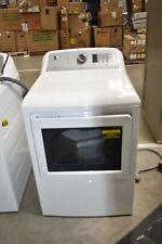 "Ge Gtd65Ebsjws 27"" White Front Load Electric Dryer 7.4 Cu.Ft Nob #45903 Hrt"