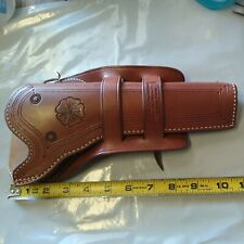 NOS-EL PASO SADDLERY LEATHER HOLSTER-FITS COLT S.A--GREAT LOOK--RIGHT HANDED