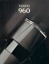Volvo 960 1993-94 UK Market Sales Brochure Customer Spec Full Spec Executive