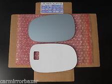 592LF Volvo C30 C70 S40 S60 S80 V50 V70 Mirror Glass Driver Side Left + ADHESIVE