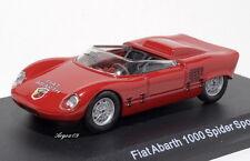FIAT ABARTH 1000 SPIDER SPORT 1963 1:43 AH13 M4 STARLINE NEW DIE-CAST MODEL
