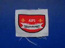 N°74 insigne écusson scout scoutisme éclaireur scouting guide 1ère Classe ASPS