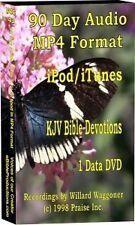 Ipod & Itunes KJV Audio Bible 90 Day Devotions 50 min