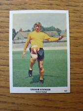 1970/1971 il sole FOOTBALL Swap card: 127-Graham Atkinson-Oxford United (Rosso