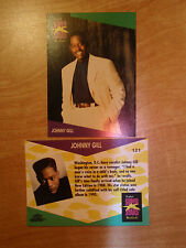 Johnny Gill US ProSet Super Stars MusiCards trading card: #121