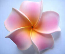 Two Hawaii Flower Bridal Wedding Favor Party Plumeria QTY ( 2 ) Hair Clips