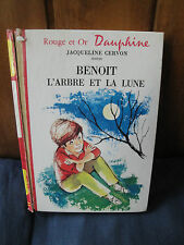 Jacqueline Cervon - Rouge et Or - Benoit L'Arbre et la Lune -1969