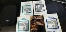 2002 FORD EXPLORER OWNERS MANUAL AND CASE