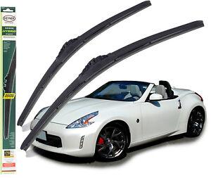 "Fits Nissan 370Z  Replacement Wiper Blades Heyner Hybrid 21""19"" 2009-On"