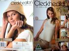 Cleckheaton Knitting & Crochet Pattern Pamphlet - THE NATURAL CHOICE - 4 Designs