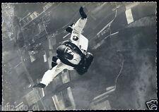 carte photo. Chalon/Champforgeuil. Cl. Bernard. chef de centre CIC .parachutisme
