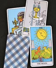 Rider Waite Colman Tarot Single Replacement Card Italy Typeset Labels