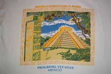 Progreso Yucatan Mexico Maravilla De Mexico Para El Mundo T-Shirt Adult Medium