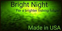 Underwater Fishing Light 300 LED Green Crappie Submersible 15,000 lumens night