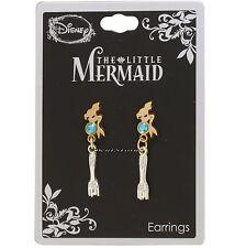 Disney The Little Mermaid Ariel Dingelhopper Fork Faux Jewel Dangle Earrings