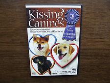 Kissing Canines Screensaver (CD-Rom, 2006) Mac, Windows 2000, Windows XP