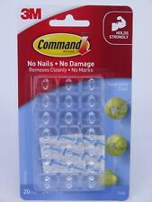 3M Command Clear Decorating Clips - 20pk 17026clr