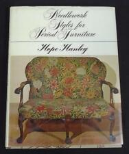 Needlework Styles For Period Furniture Hope Hanley 1978 Hardcover; Free Shipping