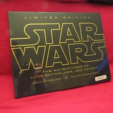 SIGNED The Adventures of Luke Skywalker, Jedi Knight (Limited Edition) +BONUS