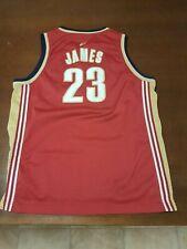 CLEVELAND CAVALIERS LeBron JAMES 23 Size XL Reebok Basketball NBA Jersey