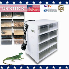 New listing Great Acrylic Pet Feeding Box Reptile Breeding Tank Insect Spider Turtle Cage